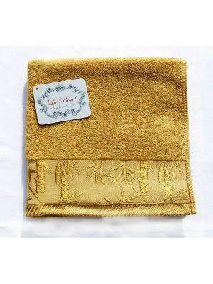 Полотенце Бамбук 50х90. La Pastel. Цвет: коричневый