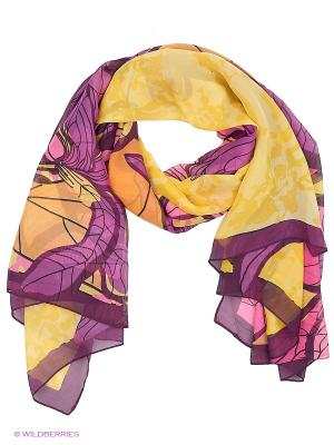Парео текстильное Vittorio Richi. Цвет: желтый, сиреневый