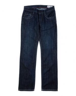 Джинсовые брюки DATCH. Цвет: синий