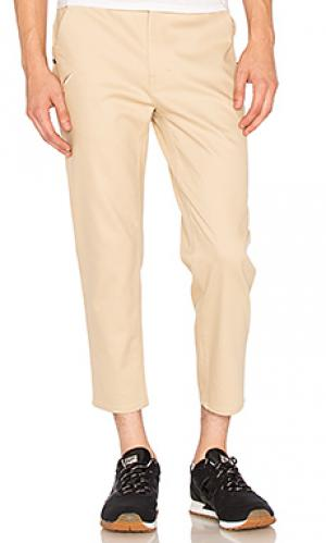 Укороченные брюки Publish. Цвет: цвет загара