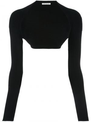 Классическая шаль Stefano Mortari. Цвет: чёрный