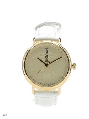 Часы Just Cavalli. Цвет: белый