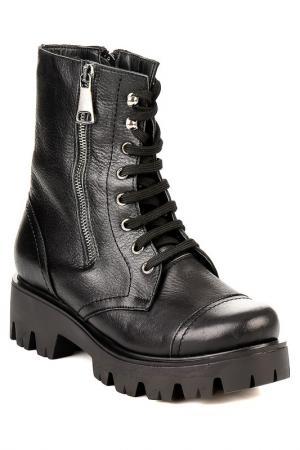 Ботинки Bambi. Цвет: black
