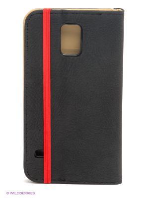Чехол для Samsung S5 WB. Цвет: серый, красный