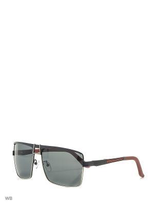 Солнцезащитные очки MAXIMUS. Цвет: черный