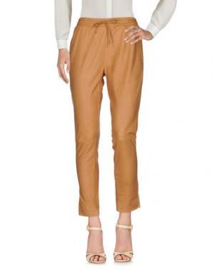 Повседневные брюки VINTAGE DE LUXE. Цвет: верблюжий