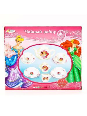Игрушечная посуда Играем вместе. Цвет: розовый