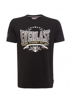 Футболка Everlast. Цвет: черный