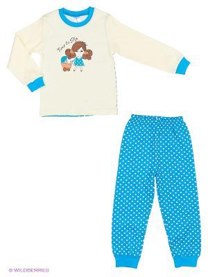 Пижама PEPELINO. Цвет: бирюзовый