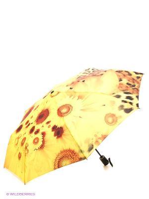 Зонт RAINDROPS. Цвет: рыжий, желтый