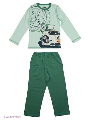 Пижама BAYKAR. Цвет: светло-зеленый