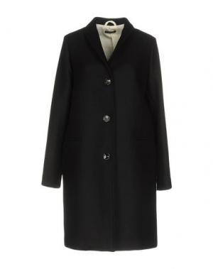 Пальто TRUE TRADITION. Цвет: черный