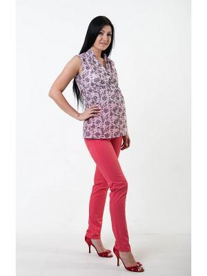 Брюки для беременных impressmama. Цвет: розовый