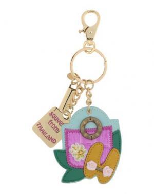 Брелок для ключей TUA BY BRACCIALINI. Цвет: светло-зеленый