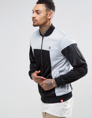 Your Own Спортивная куртка со вставками. Цвет: синий