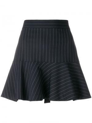 Расклешенная юбка Joe в полоску Zadig & Voltaire. Цвет: синий