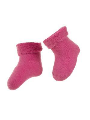 Носки махровые 2 пары Janus. Цвет: розовый