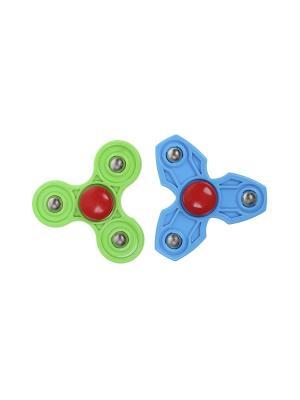 Комплект (Спиннер - 2 шт.) Happy Charms Family. Цвет: голубой, зеленый, красный