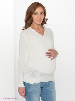 Пуловер Мамуля красотуля. Цвет: белый