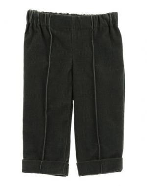 Повседневные брюки LA STUPENDERIA. Цвет: темно-зеленый