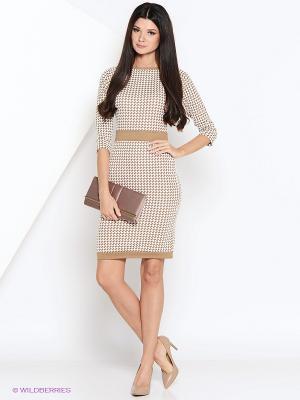 Платье GiuliaRossi. Цвет: бежевый