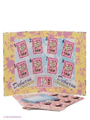 Настольная игра Девичьи секреты TopGame. Цвет: розовый, голубой