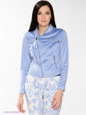 Жакет SILVIAN HEACH. Цвет: голубой