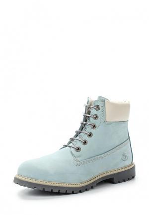 Ботинки LumberJack. Цвет: голубой