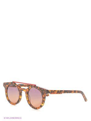 Солнцезащитные очки OXYDO. Цвет: рыжий, красный