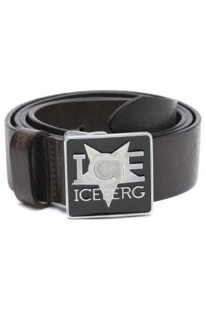 Ремень Ice Iceberg. Цвет: черный