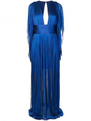 Платье Nadina Maria Lucia Hohan. Цвет: синий