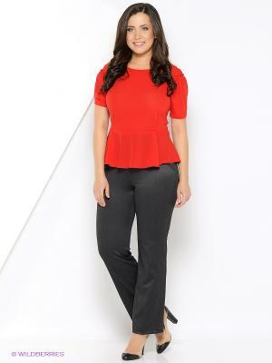 Блузка Milana Style. Цвет: красный