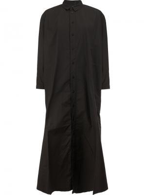 Draughtsman dress Toogood. Цвет: чёрный
