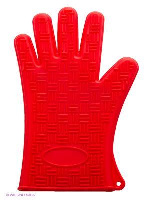 Прихватка-перчатка MAYER-BOCH. Цвет: красный