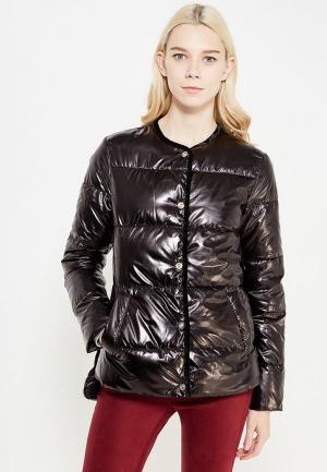 Куртка утепленная Mango. Цвет: черный