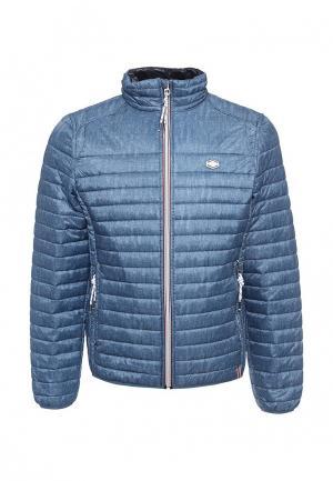 Куртка утепленная MeZaGuz. Цвет: голубой