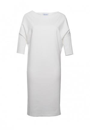 Платье Voielle. Цвет: белый