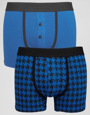 William Hunt Комплект из 2 боксеров-брифов. Цвет: темно-синий