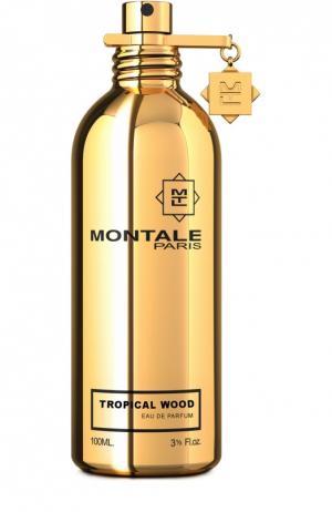 Парфюмерная вода Tropical Wood Montale. Цвет: бесцветный