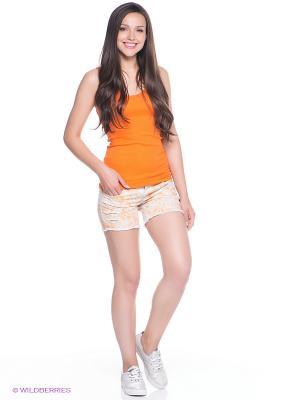 Шорты MONDIGO. Цвет: оранжевый
