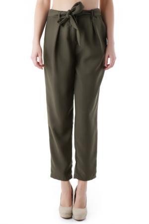 Trousers Cristina Gavioli. Цвет: green