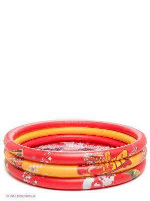 Надувной бассейн Тачки Mondo. Цвет: красный