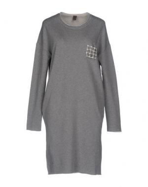 Платье до колена JIJIL. Цвет: серый