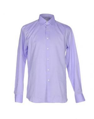 Pубашка CELLINI. Цвет: сиреневый