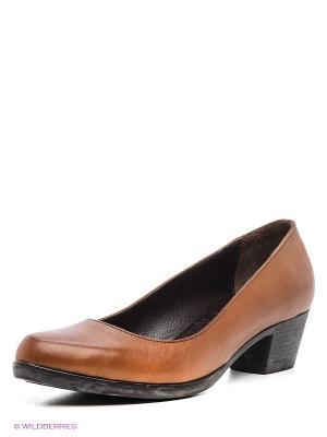 Туфли DAKKEM. Цвет: коричневый