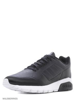 Кроссовки RUN9TIS TM 2.0 Adidas. Цвет: черный