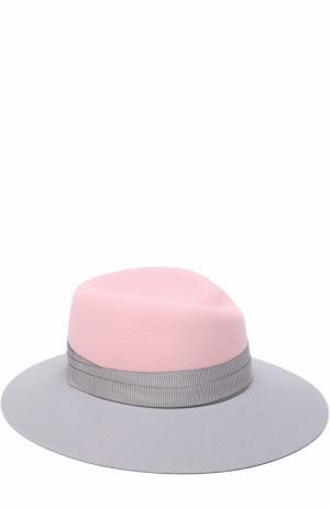 Фетровая шляпа Virginie Maison Michel. Цвет: светло-розовый