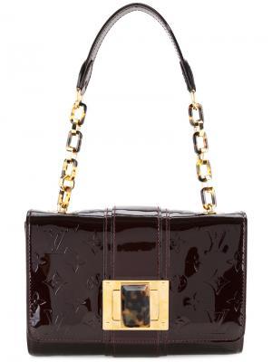 Сумка Vernis Vermont Avenue Louis Vuitton Vintage. Цвет: коричневый