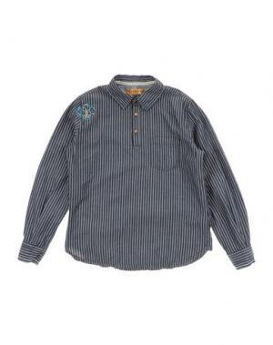 Pубашка CUSTO GROWING. Цвет: свинцово-серый