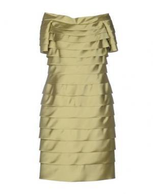 Платье до колена CAILAN'D. Цвет: кислотно-зеленый
